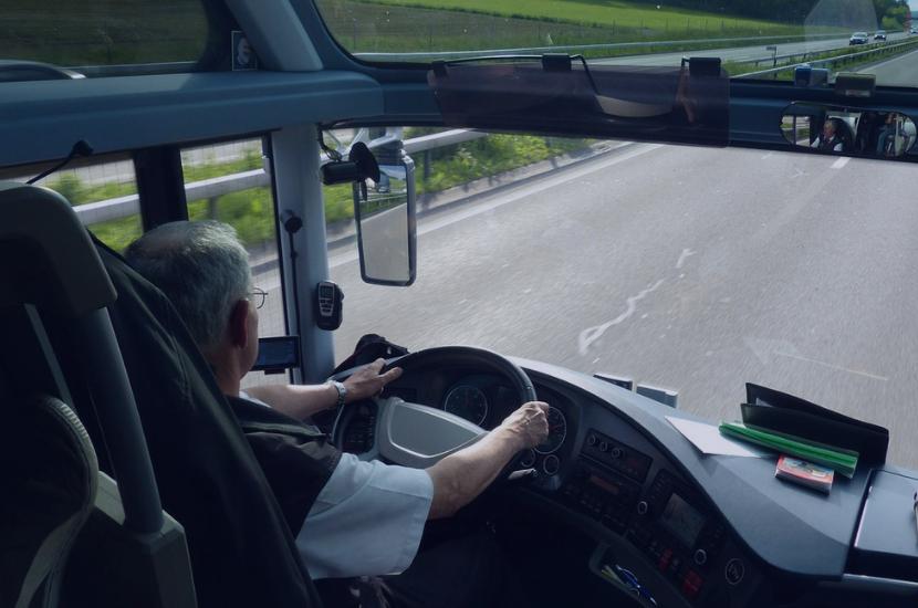 Водитель автобуса вежливый