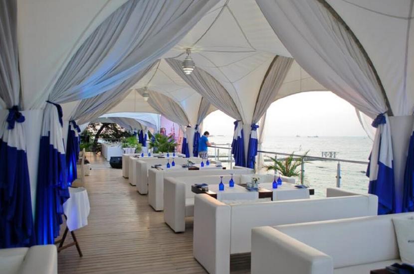 """Ресторан """"Синее море"""" в Сочи"""